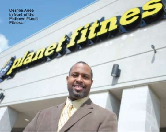 milmag-acre-program-story-Deshe-Agee-front-of-the-Midtown-Planet-Fitness.
