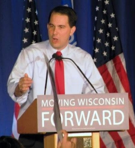 t Gov. Scott Walker told a cheering crowd